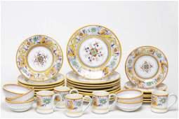 Deruta Italian Dinnerware, Hand-Painted Service