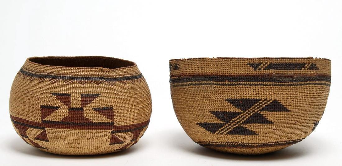 Northwest Coast Tribal Woven Baskets