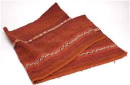 """Vintage Navajo-Style Striped Wool Rug- 24"""" X 58"""""""