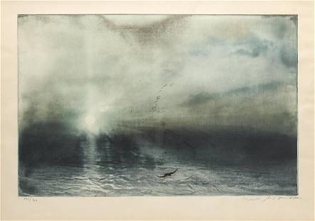 Kaiko Moti (Indian, 1921-1989) - Lithograph