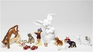 European Porcelain Miniature Tabletop Articles 14