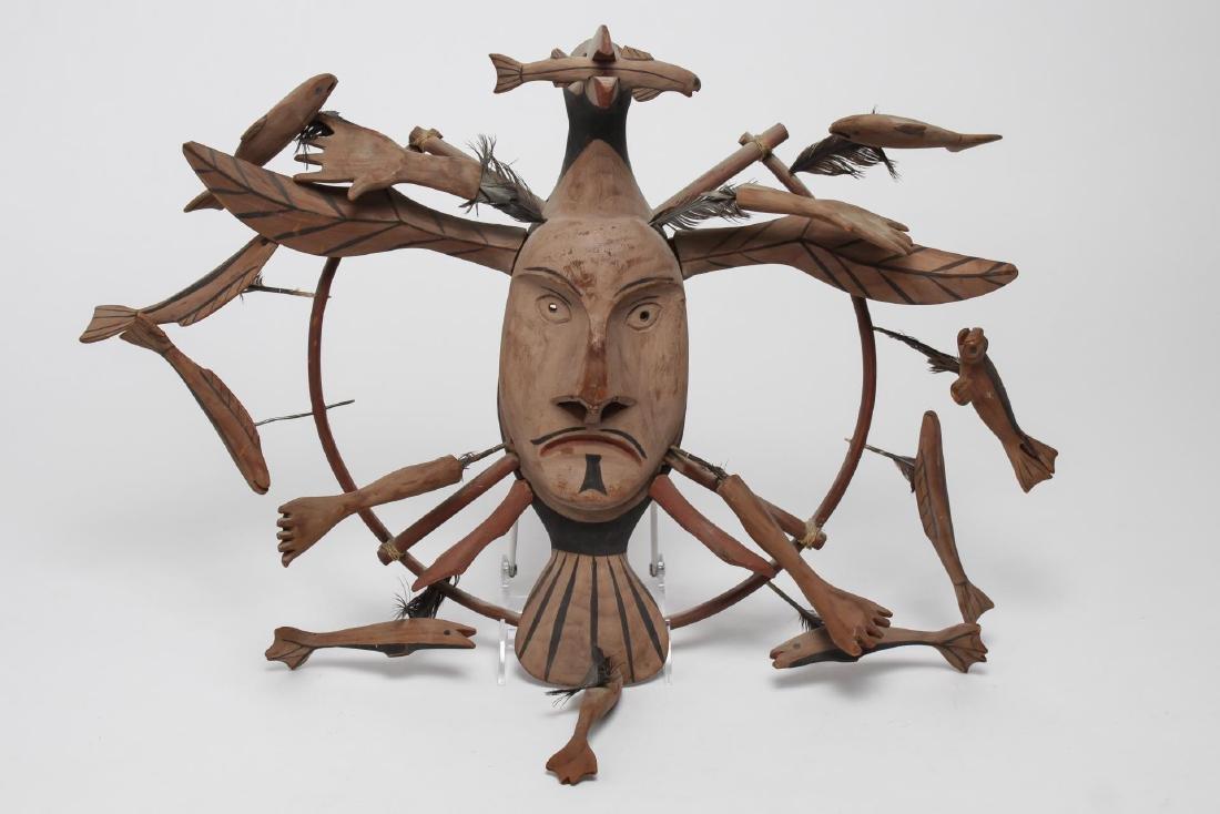 Yup'ik Inuit Shaman Mask, Pacific Northwest
