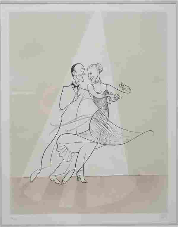 Al Hirschfeld (American, 1903-2003)- Lithograph