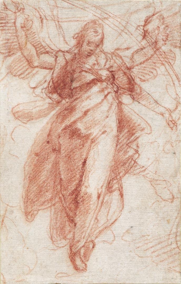 Alessandro Casolani (Siena, 1522-1606)- Drawing