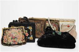 Vintage Evening Bags, Group of 7 Examples