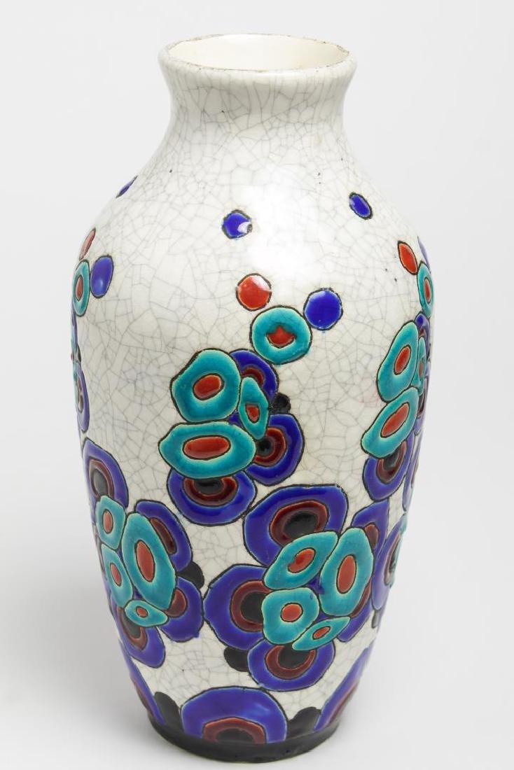 Art Deco Boch & Catteau la Louviere Ceramic Vase