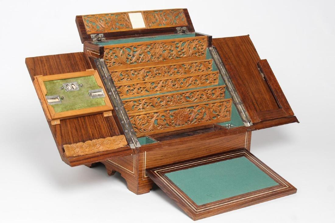 Portable Desk Secretary, Organizer & Bill Holder - 2