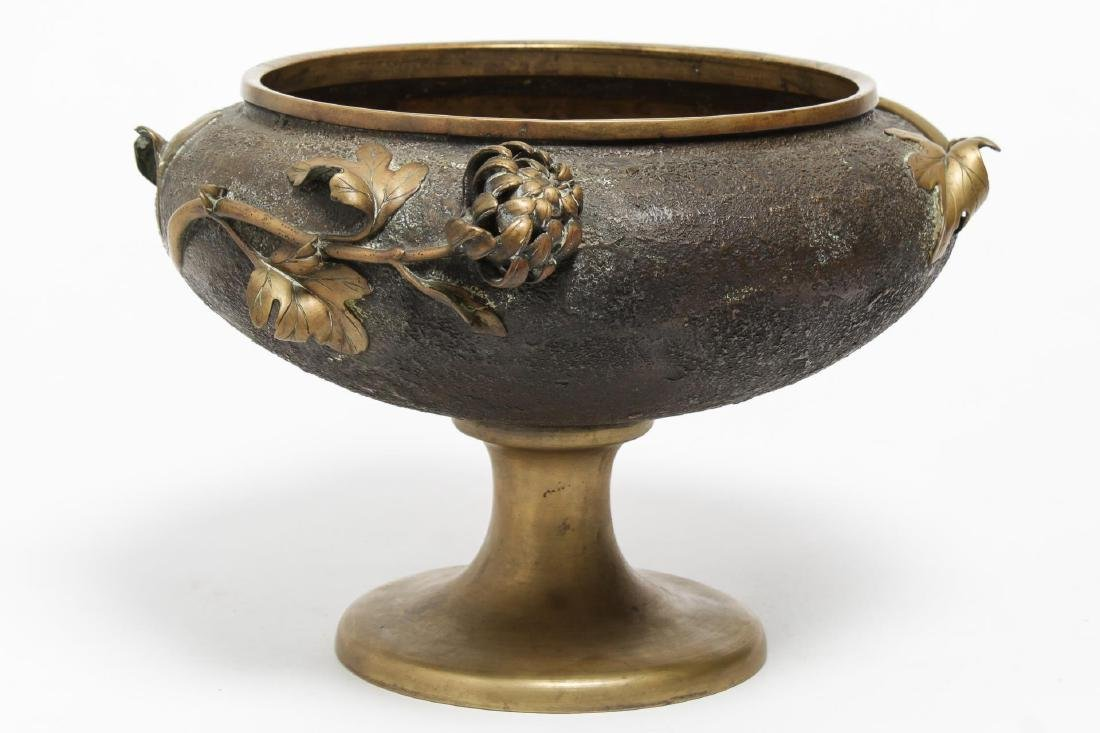 Aesthetic Movement Japonisme Bronze Footed Bowl