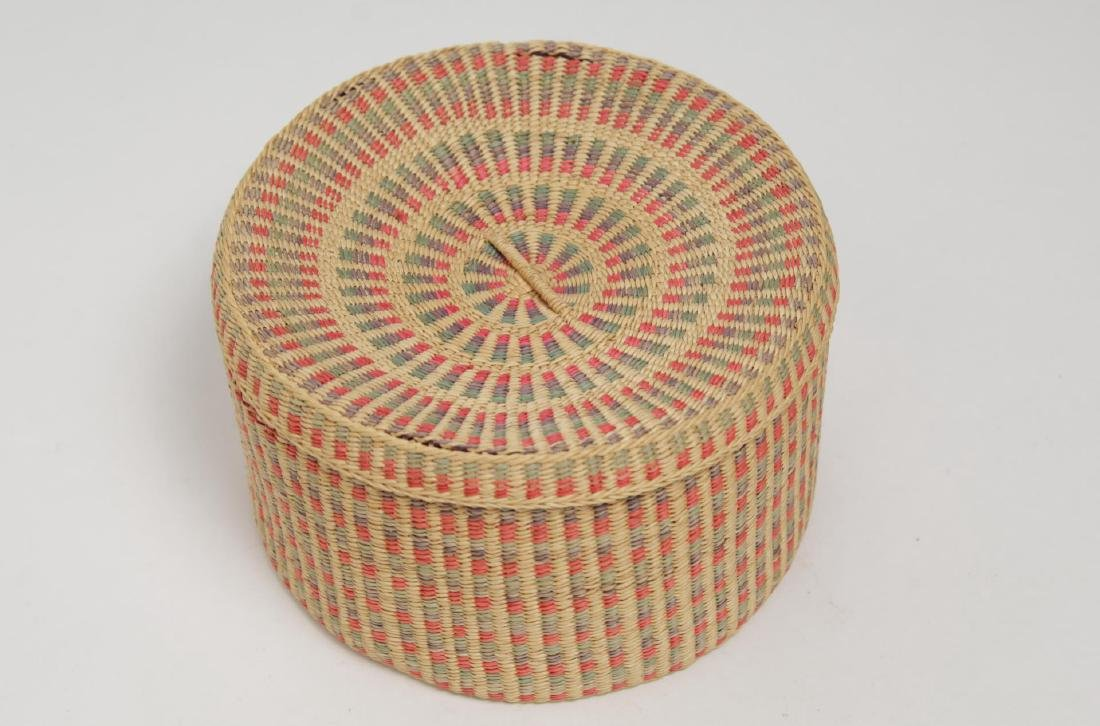 Native American Woven Storage Containers, 2 - 7