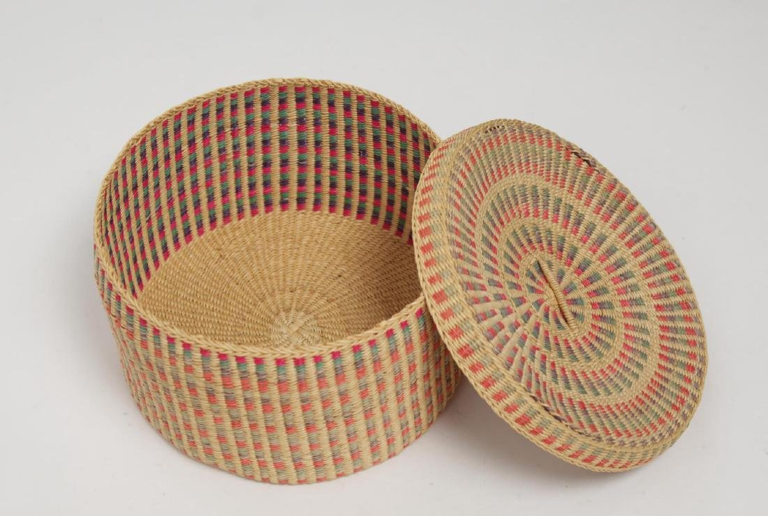 Native American Woven Storage Containers, 2 - 8