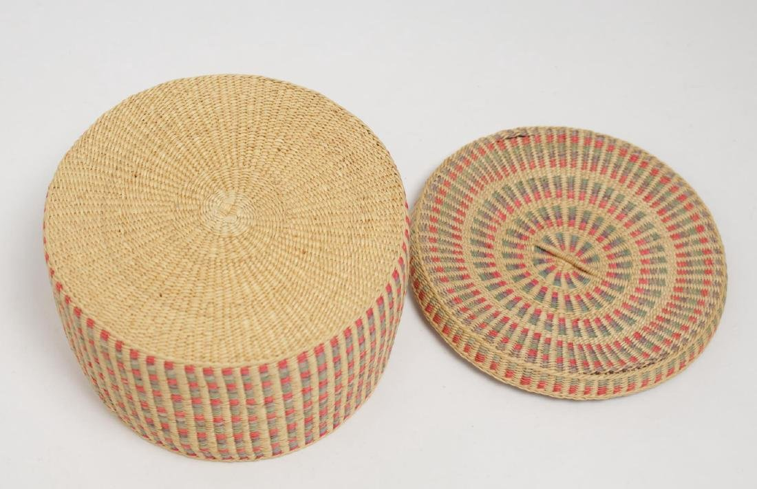 Native American Woven Storage Containers, 2 - 9