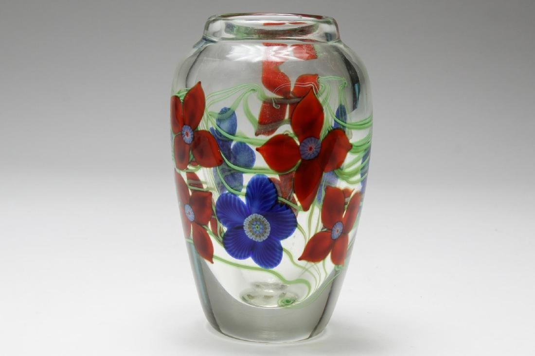 California Art Crystal Vase, Orient & Flume Studio