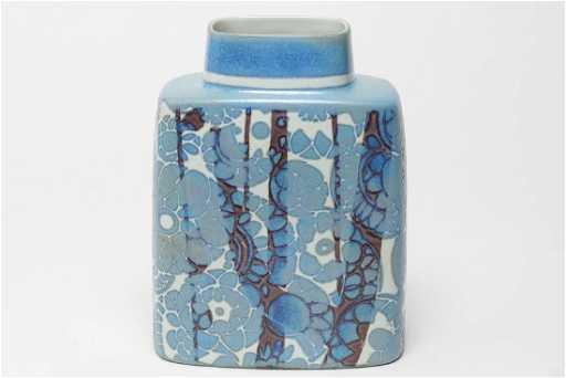 Royal Copenhagen Fajance Porcelain Vase C 1950