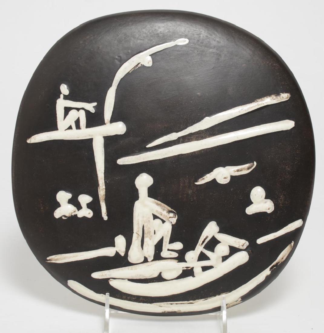 Pablo Picasso (Spanish, 1881-1973)- Madoura Plate
