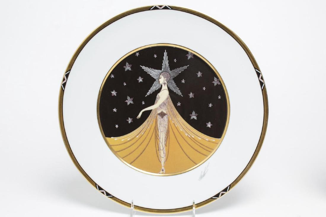Erte Commemorative New York Porcelain Plates, 2 - 3