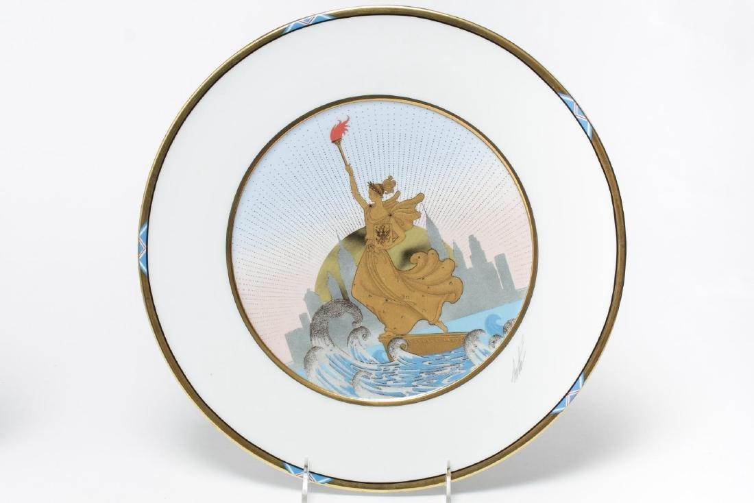 Erte Commemorative New York Porcelain Plates, 2 - 4