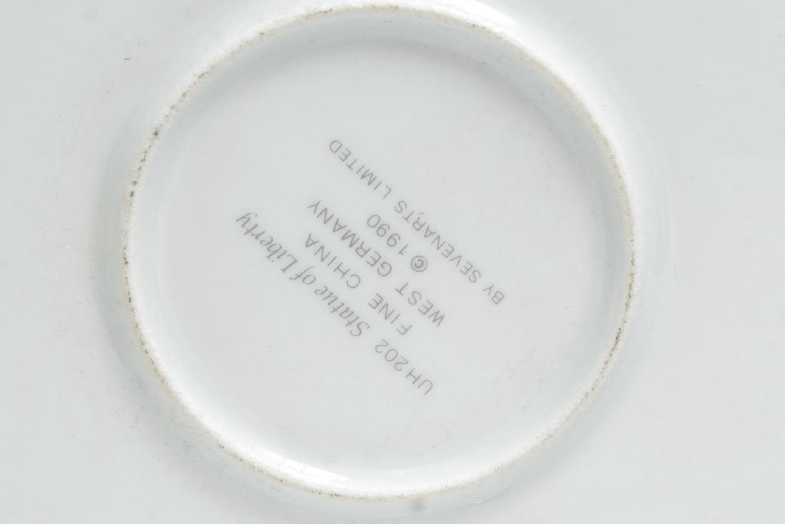 Erte Commemorative New York Porcelain Plates, 2 - 7