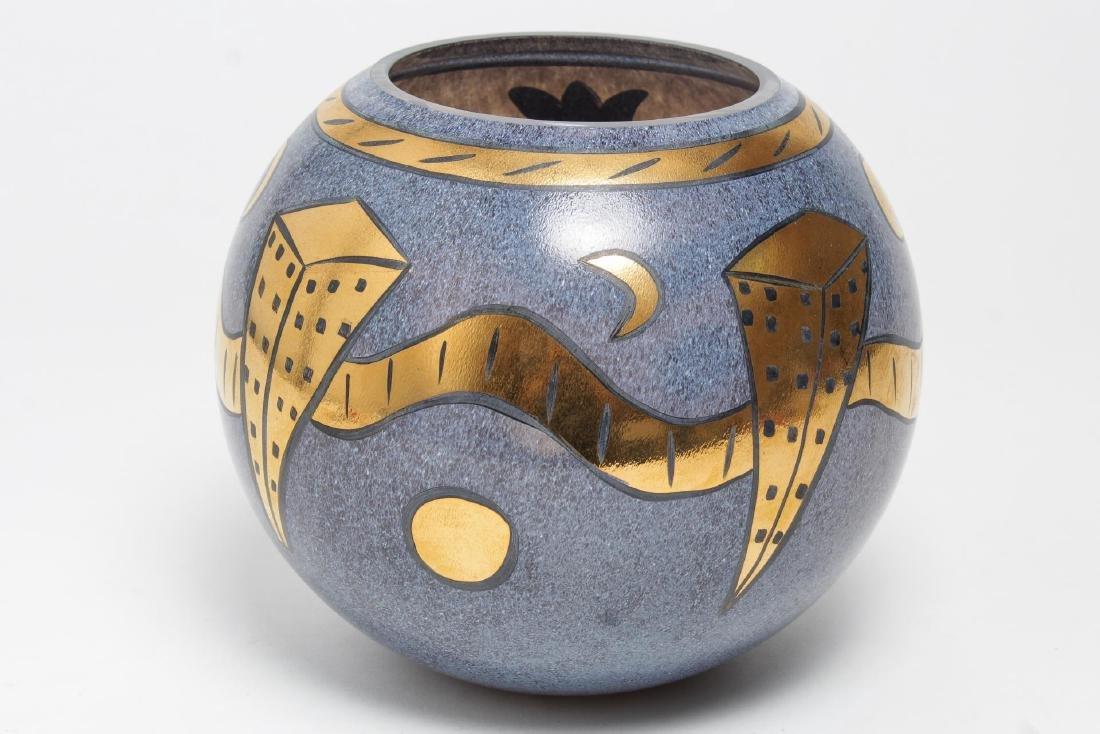 Kosta Boda Art Glass Vase, Ulrica Hydman-Vallien