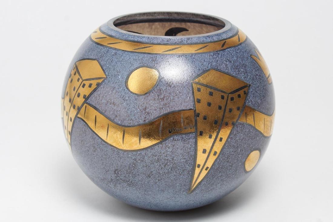 Kosta Boda Art Glass Vase, Ulrica Hydman-Vallien - 2