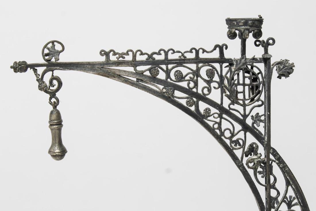 Barcelona Modernist Lamppost- Steel Maquette Model - 2
