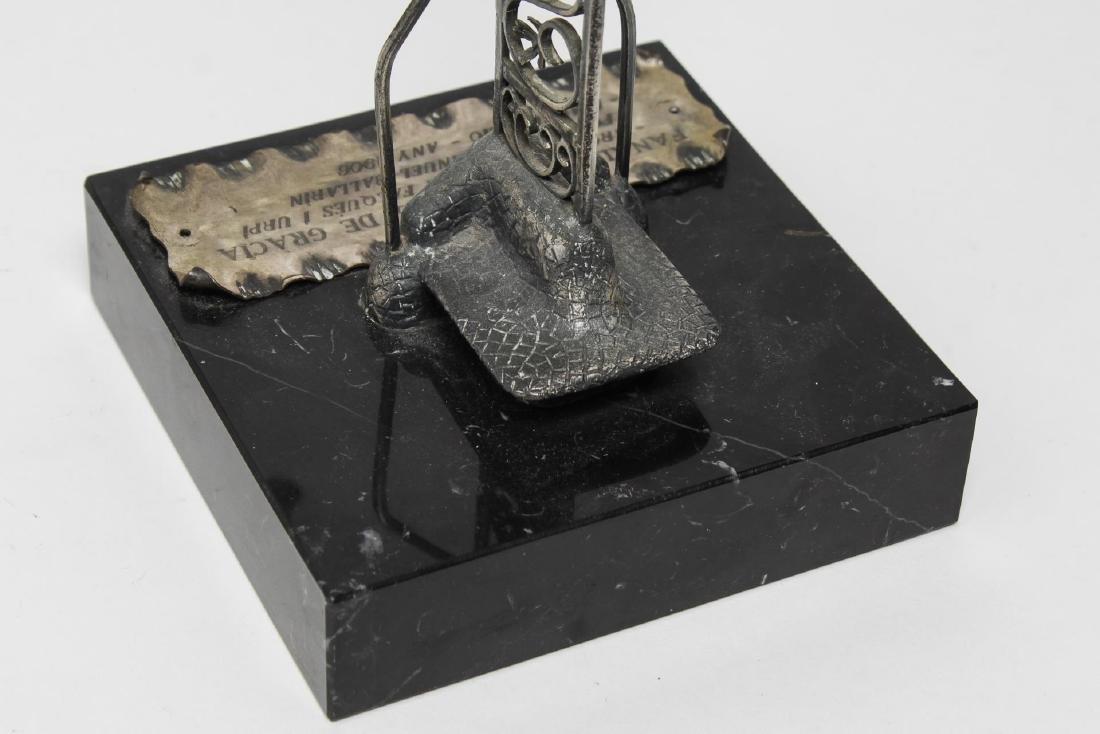 Barcelona Modernist Lamppost- Steel Maquette Model - 3