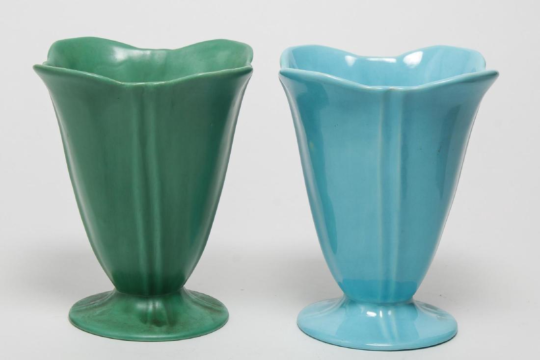 Art Deco Catalina California Art Pottery, 4 Vases - 2
