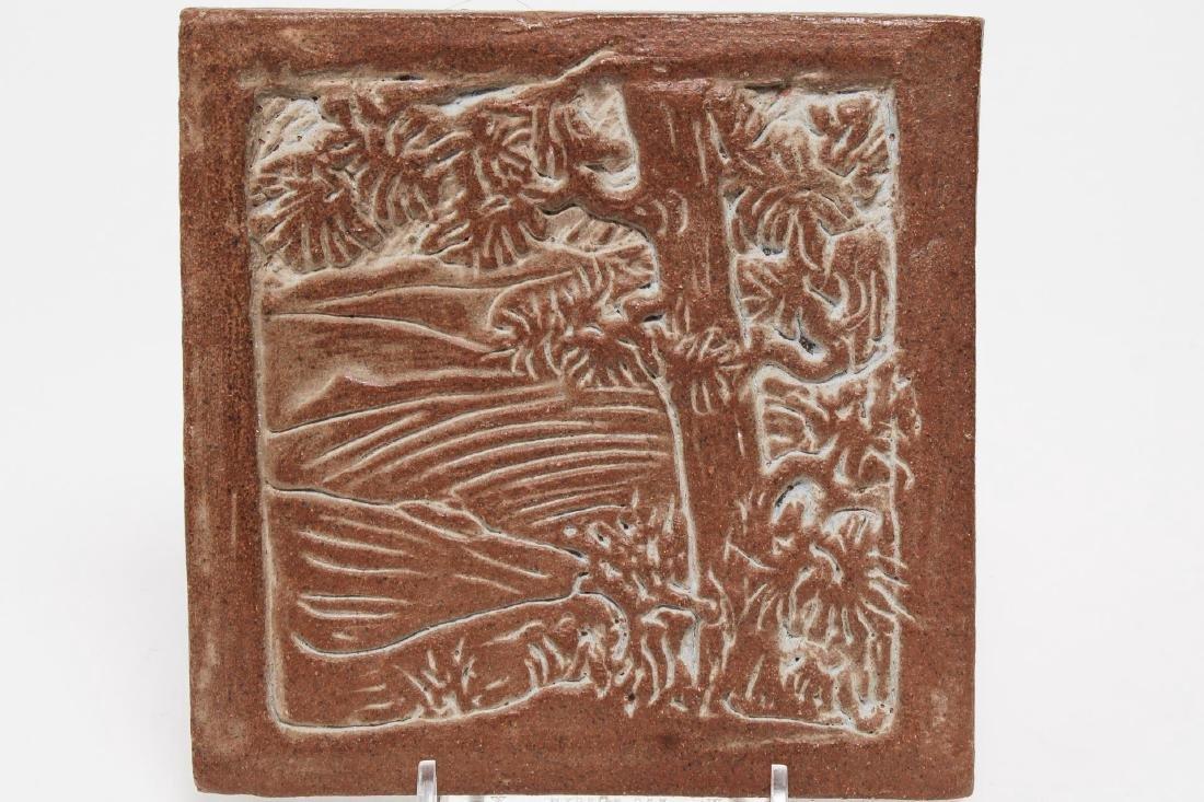 California Arts & Crafts-Style Art Pottery Tiles - 3