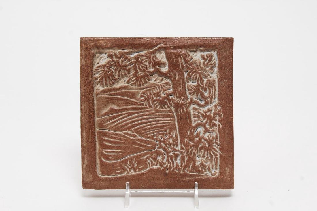 California Arts & Crafts-Style Art Pottery Tiles - 4