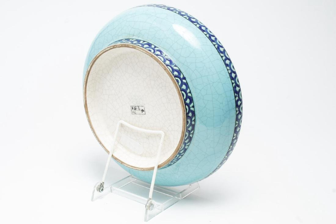 Keralouve La Louviere,Belgium Ceramic Bird Plate - 3
