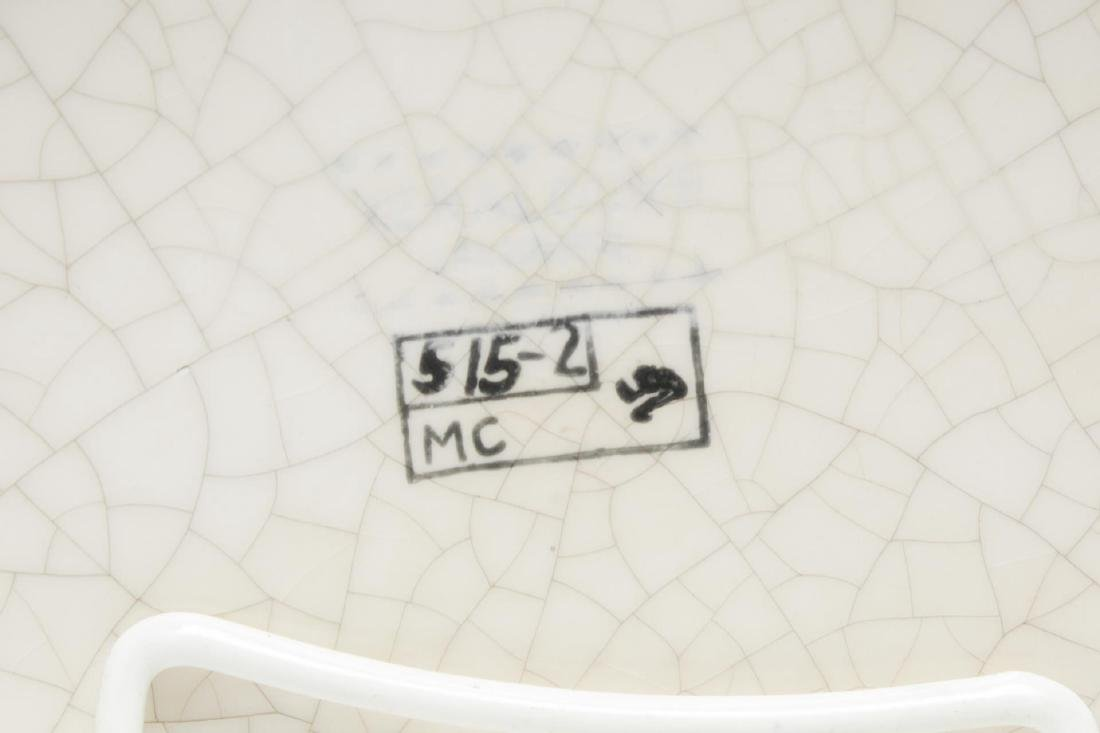 Keralouve La Louviere,Belgium Ceramic Bird Plate - 4