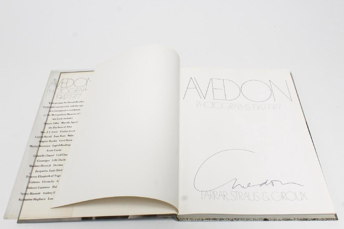 """Richard Avedon """"Photographs,"""" Signed 1st Ed. Book - 2"""