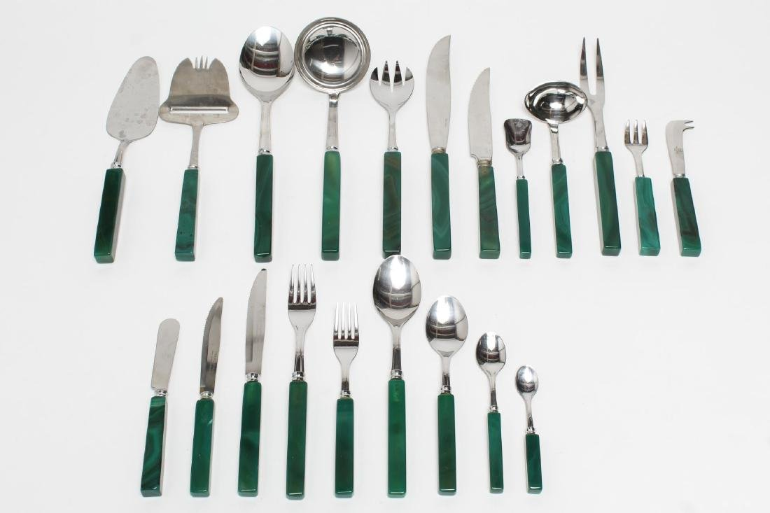 "Inox Italy ""Hercules"" Flatware & Serving Pieces"
