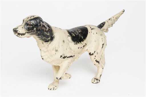 Hubley Cast Iron Doorstop German Pointer Dog