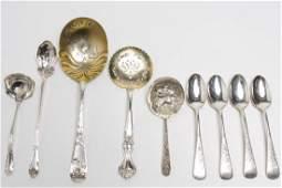 Sterling Silver Art Nouveau Spoons incl Gorham