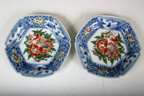 816: Pair of  18 C. Japanese Dishes