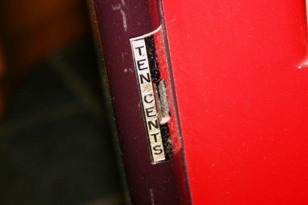 1142: Antique Phillies Blunt Cigar Vending Machine - 4