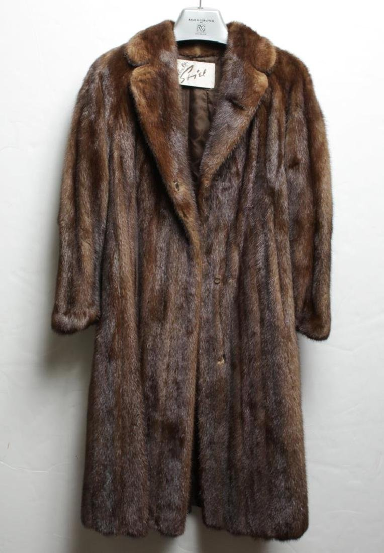 Mink Coat Value >> Vintage Mink Fur Coat Woman S By Walt Stiel Nov 05 2017