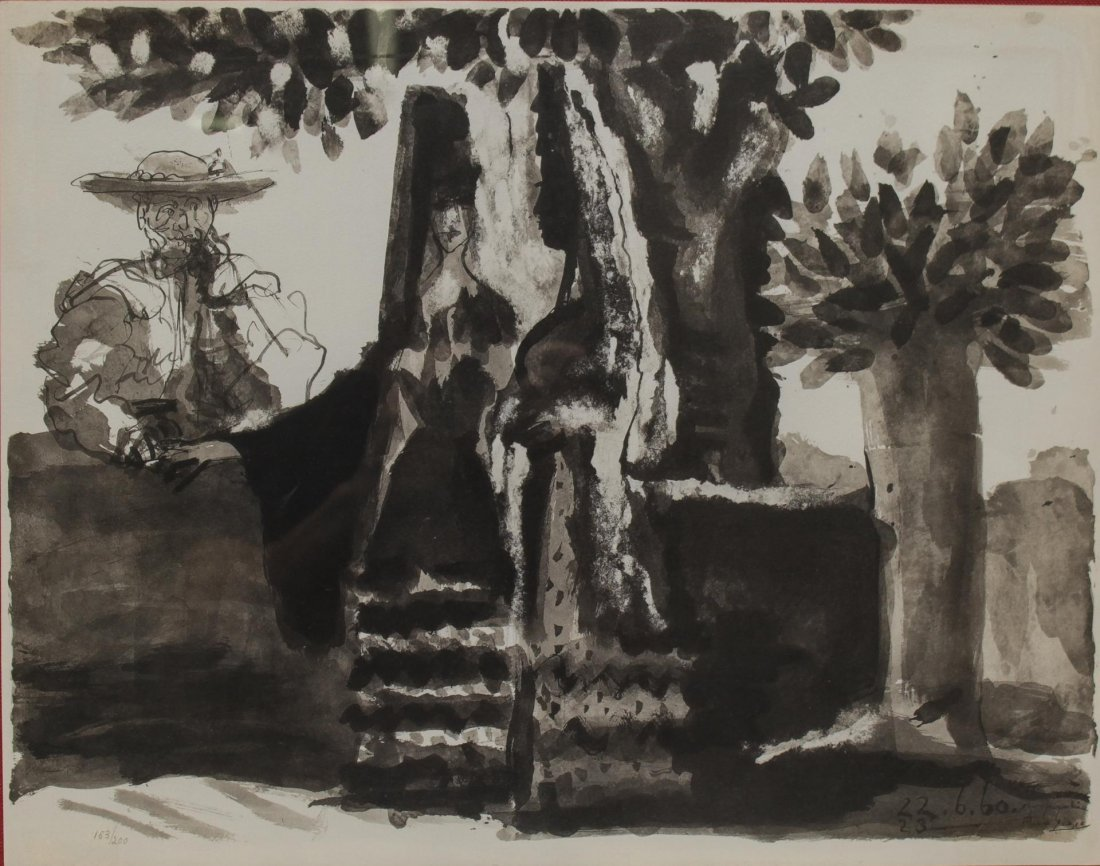Pablo Picasso (Spanish, 1881-1973)- Lithograph