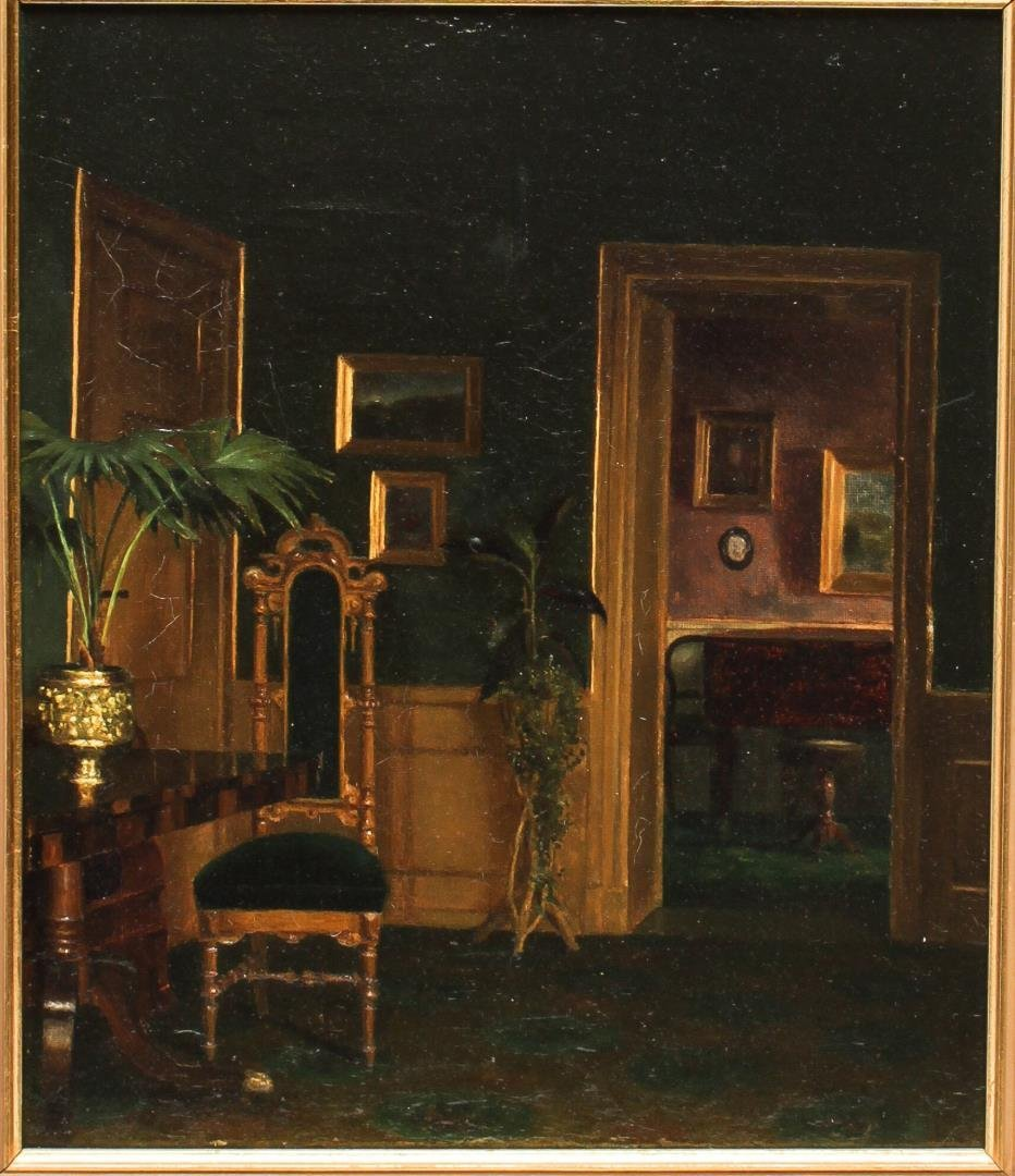 Brita Barnekow (Danish, 1868-1936)- Oil