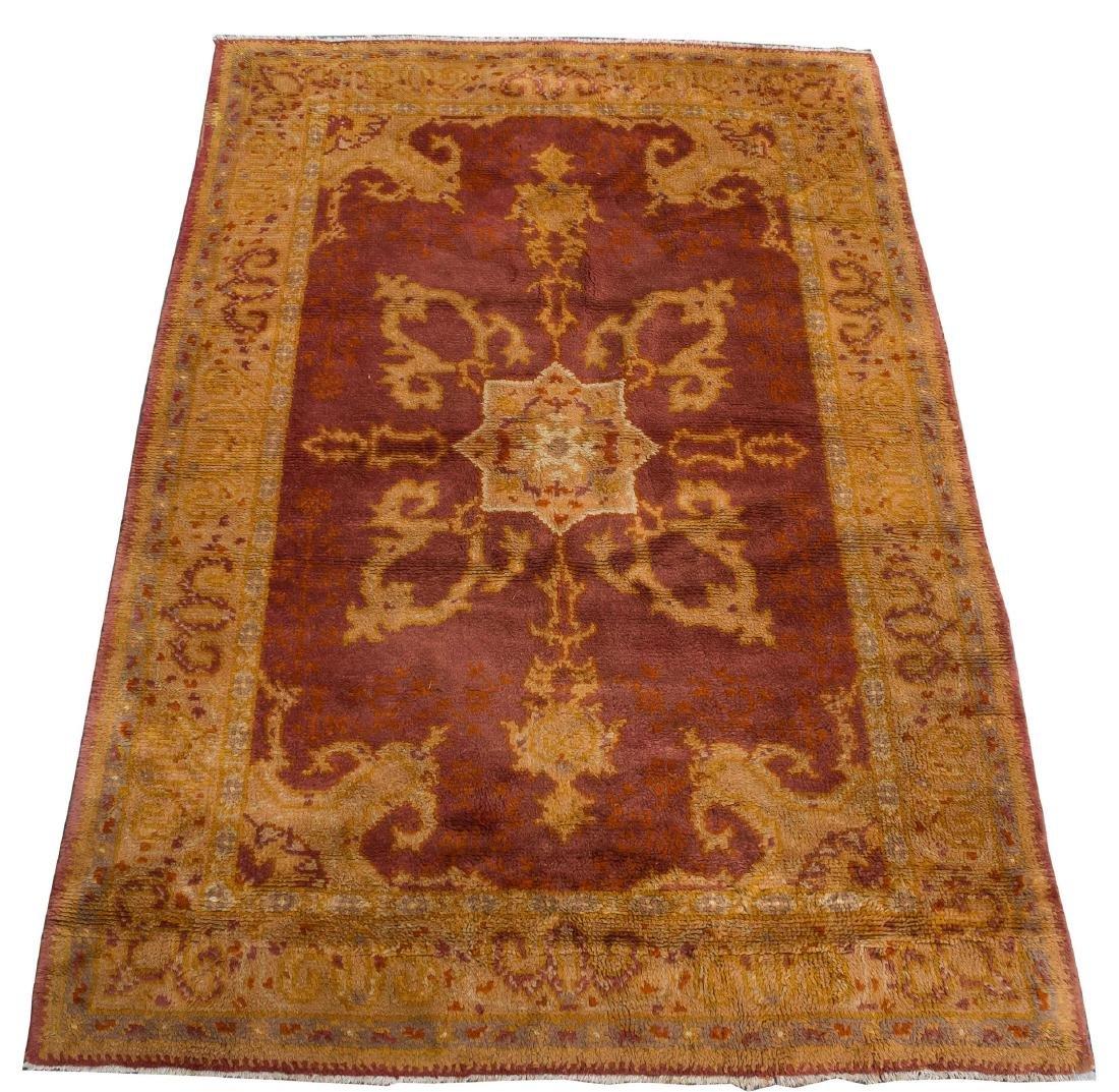 """Oushak Turkish Carpet - 5' 9"""" X 8' 9"""""""