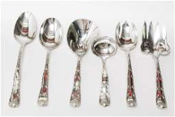 Tiffany Sterling Silver Wave Edge Serving Pieces