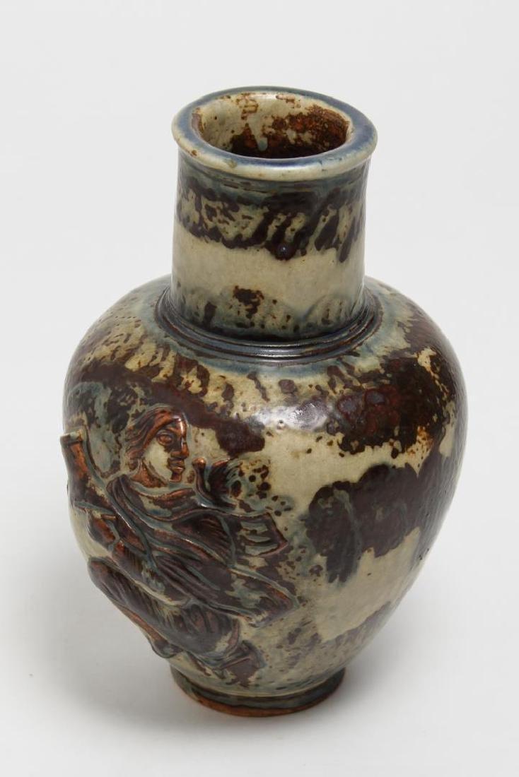 Royal Copenhagen Jais-Nielsen Deco Pottery Vase - 4