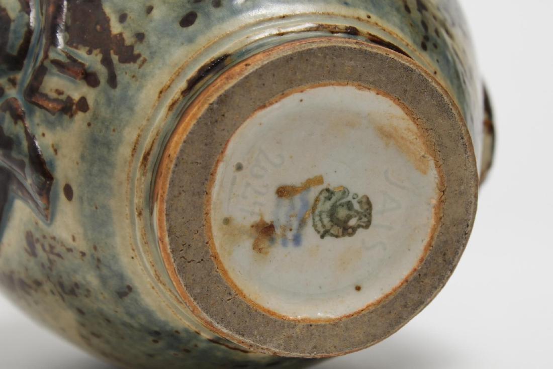 Royal Copenhagen Jais-Nielsen Deco Pottery Vase - 5