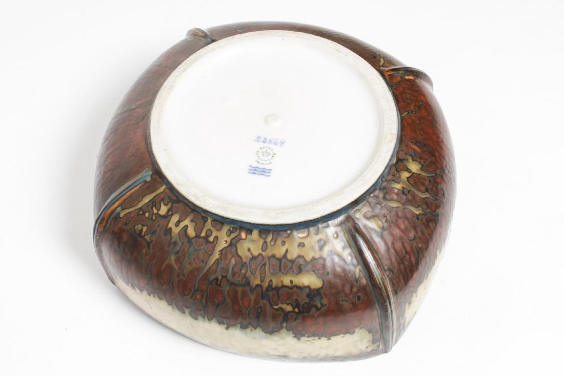 Royal Copenhagen Ivan Weiss Glazed Porcelain Bowl - 4