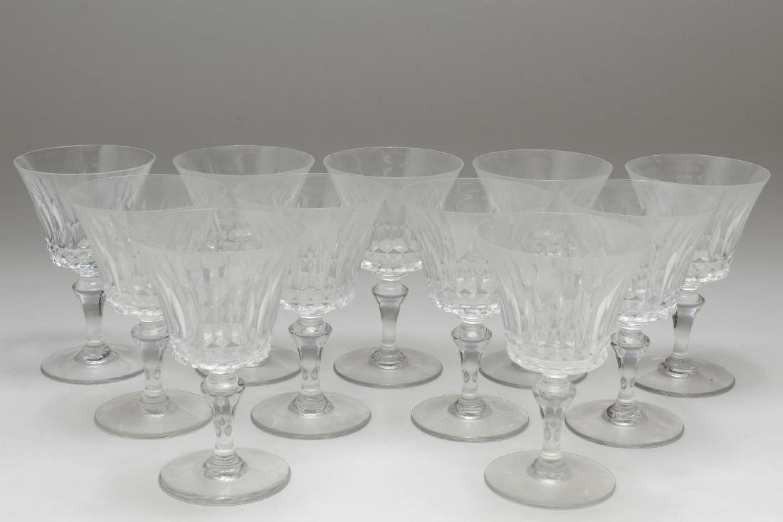 """Baccarat Crystal """"Piccadilly"""" Wine/Water Glasses"""