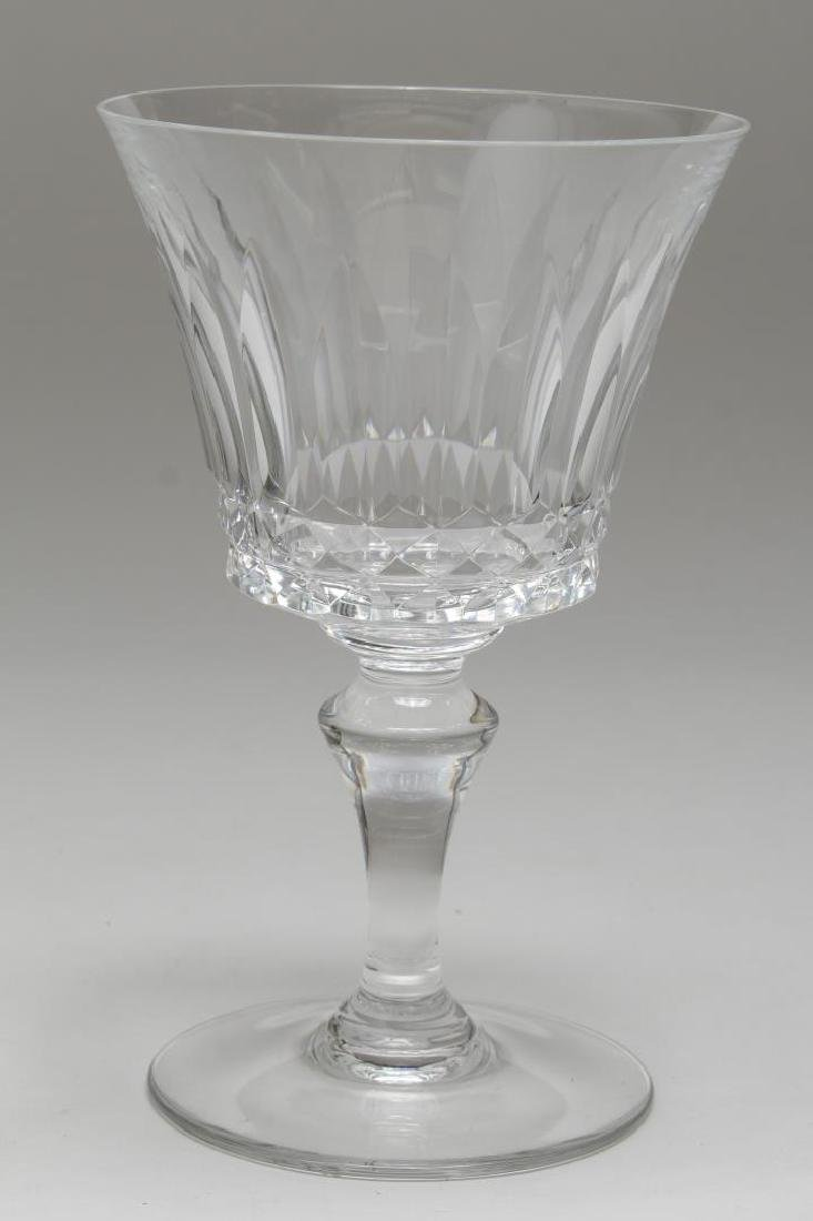 """Baccarat Crystal """"Piccadilly"""" Wine/Water Glasses - 3"""