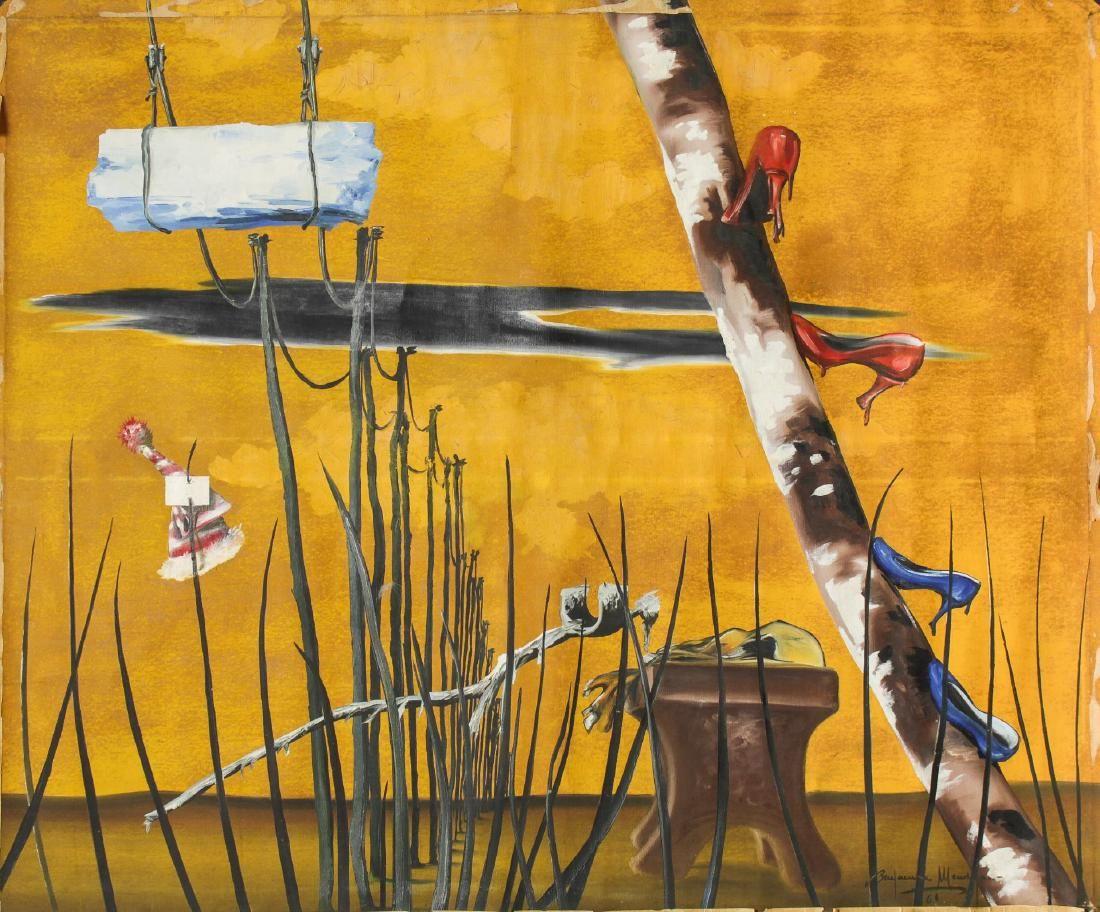 Benjamin Mendoza (Bolivian, b. 1935)- Oil