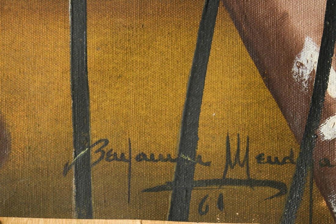 Benjamin Mendoza (Bolivian, b. 1935)- Oil - 2