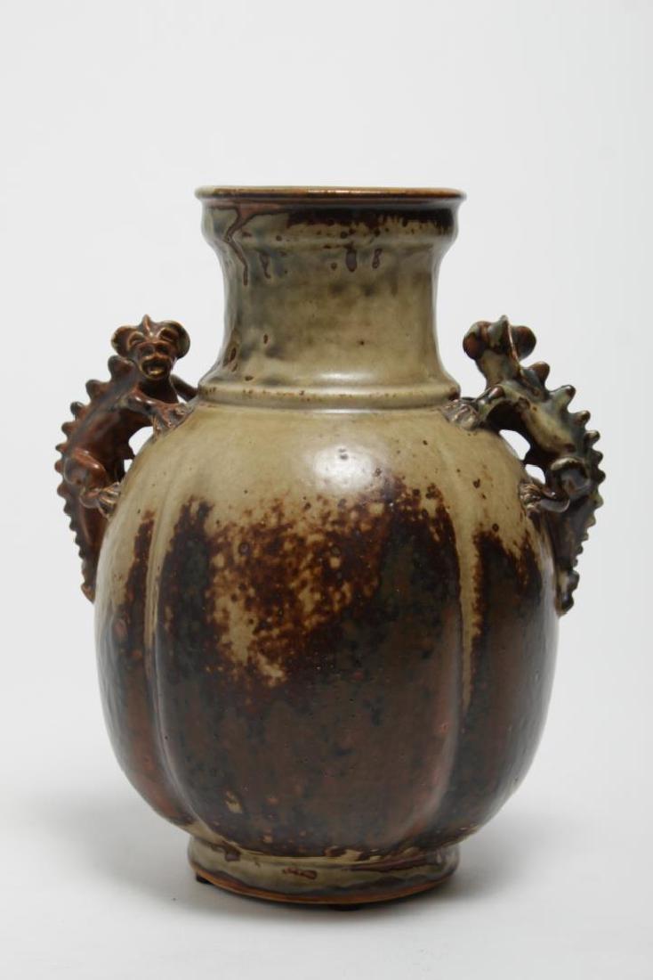 Bode Willumsen for Royal Copenhagen Stoneware Vase - 3