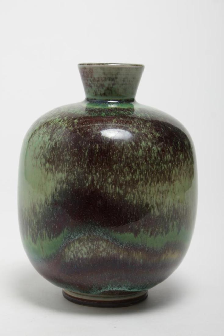 Mid-Century Gustavsberg Swedish Stoneware Vase - 2